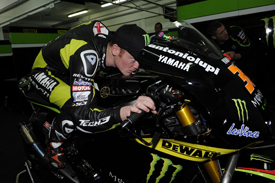 Bradley Smith tech 3 yamaha motogp test 2012