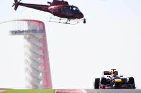 Sebastian Vettel, Red Bull, Austin 2012