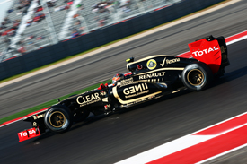 Romain Grosjean, Lotus, Austin 2012