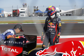 Mark Webber retires at Austin