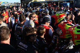 Aftermath of Phoenix NASCAR fight