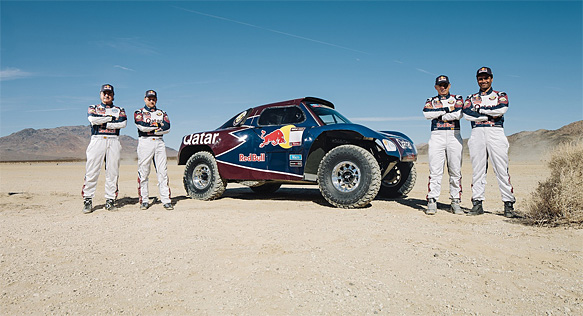 Al-Attiyah and Sainz pair up for Dakar