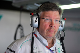 Ross Brawn MErcedes 2012 GP