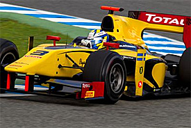 Marcus Ericsson quickest on opening day of Jerez's GP2 test