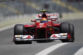 Felipe Massa, Ferrari, Interlagos 2012
