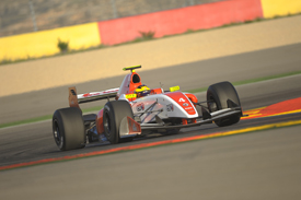 Stoffel Vandoorne, Fortec, Aragon FR3.5 testing 2012