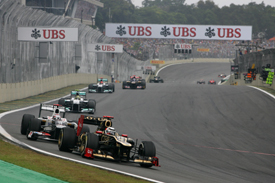 Kimi Raikkonen, Lotus, Interlagos 2012