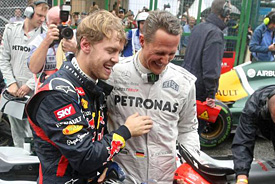 Brawn: Schumacher showed all his skills