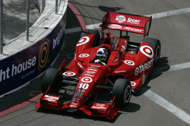 Dario Franchitti, Ganassi, Long Beach 2012