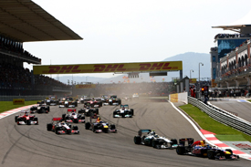 Turkish GP start 2011
