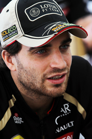 Jerome d'Ambrosio Lotus 2012 F1