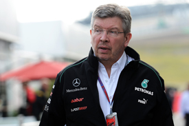 Ross Brawn Mercedes GP 2012