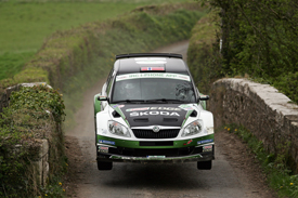 Andreas Mikkelsen, Skoda UK, Ireland IRC 2012