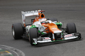 Paul di Resta, Force India, Interlagos 2012