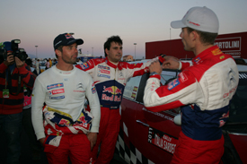 Sebastien Loeb and Sebastien Ogier