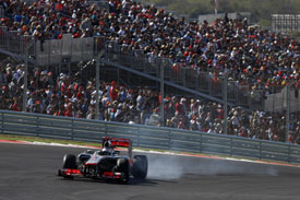 Jenson Button McLaren Austin 2012 F1