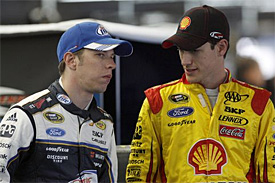 Logano aims to learn from Keselowski