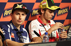 Lorenzo: No wall with Rossi