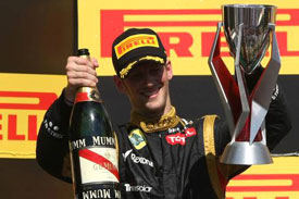 Romain Grosjean Lotus F1 2012 Canada