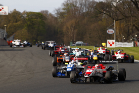British F3 Oulton Park 2012