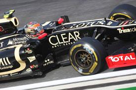 Romain Grosjean F1 2012
