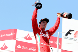 Fernando Alonso wins in Valencia 2012