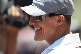 Schumacher came back to F1 a more relaxed man