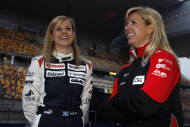 Susie Wolff and Maria de Villota