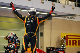 Kimi Raikkonen wins in Abu Dhabi