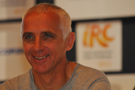 Francois Delecour 2012 Corsica Rally IRC