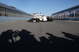 Sauber launch 2012
