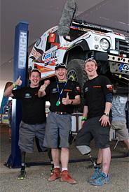 Race2Recovery crew