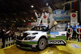 Jan Kopecky wins 2013 Janner Rally