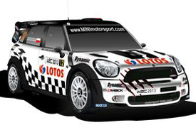 Motorsport Italia Mini livery 2013