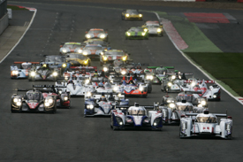 WEC Silverstone start 2012