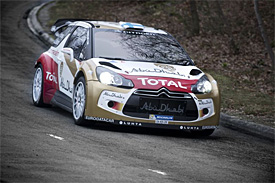Hirvonen escapes big testing crash
