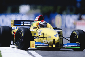 Luca Badoer, Forti, Argentina 1996