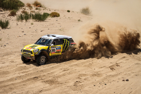 Nani Roma X-raid Mini 2013 Dakar Rally