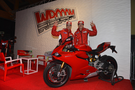 Andrea Dovizioso and Nicky Hayden