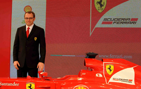 Ferrari launch 2012