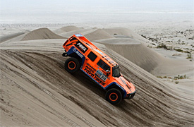 Robby Gordon wins shortened Dakar Rally stage