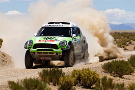 Peterhansel hails 'incredible' Dakar win