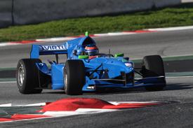 Andrea Roda, Virtuosi UK, Barcelona Auto GP testing 2012