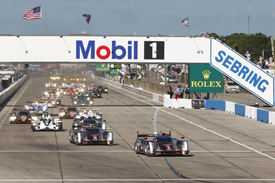Sebring 12 Hours start 2012