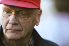 Niki Lauda Mercedes