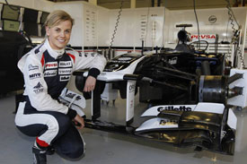 Susie Wolff Williams F1