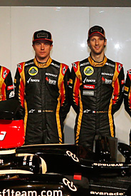 Lotus says drivers its trump card for '13