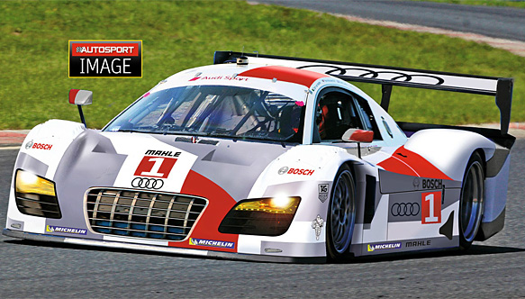 Autosport's image of an Audi Daytona Prototype
