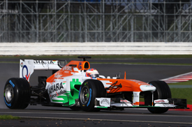 Paul di Resta, Force India VJM06 shakedown
