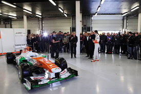 Force India launch 2013